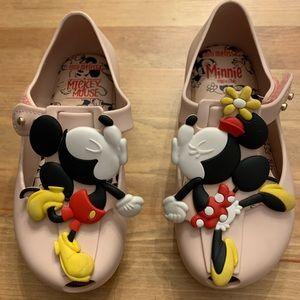 Mickey & Minnie Mini Mellisa Sz 9